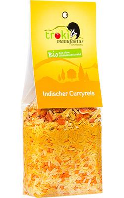 Indischer Curryreis