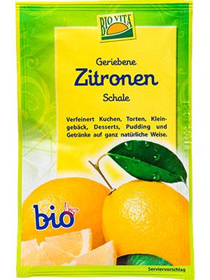 Zitronenschalen