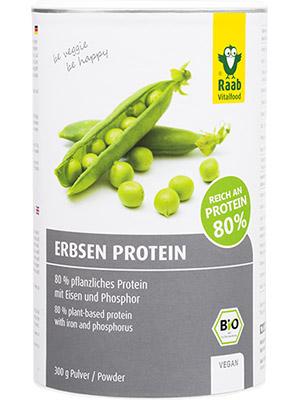 Erbsen Proteinpulver