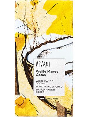 Weiße Mango Cocos