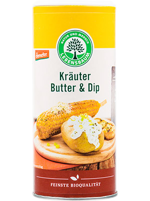 Kräuter Butter und Dip
