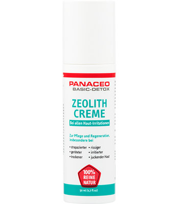 Zeolith-Creme
