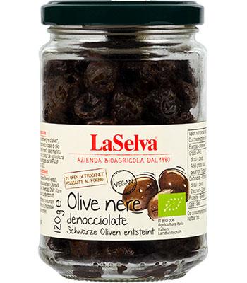 Dunkle getrocknete Oliven
