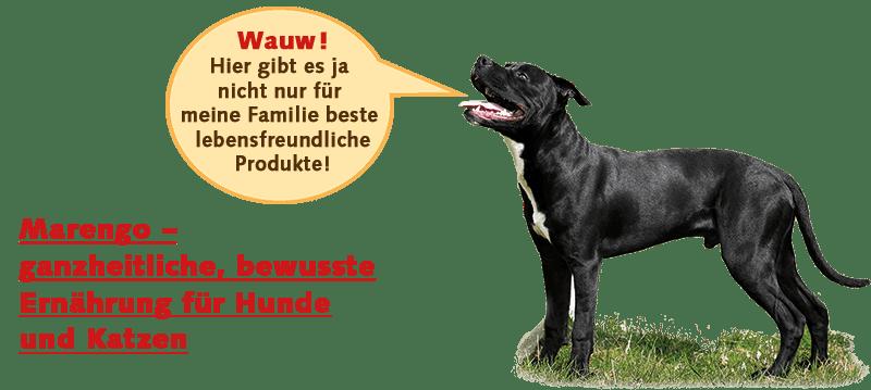 Marengo - natürliches Futter für Hund und Katze