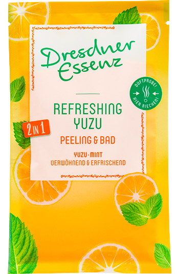 Produktbild zu Artikel 2in1 Peeling & Bad Refreshing Yuzu