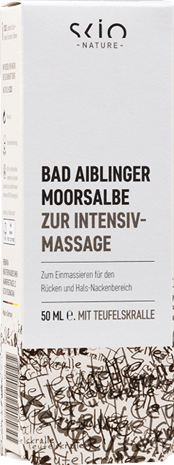 Moorsalbe zur Intensiv-Massage