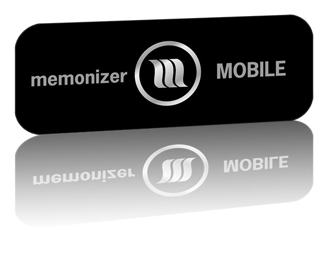 MEMONizer mobile black