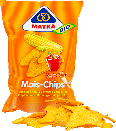 Mais-Chips Paprika