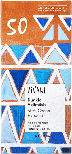 Dunkle Vollmilch 50% Kakao