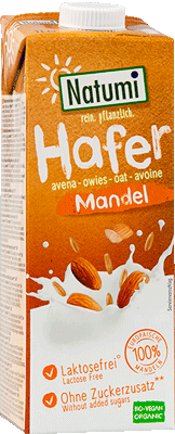 Hafer-Mandel-Drink