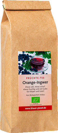 Früchte-Tee Orange-Ingwer